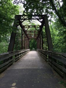 Metal Bridge, Yellow Springs, OH