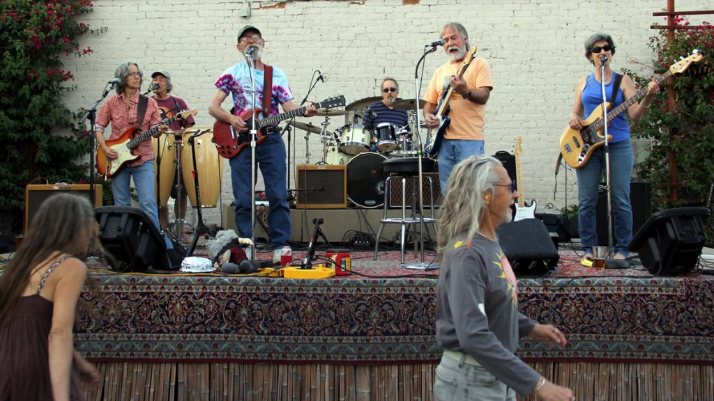 Wayback Machine band of Tucson, AZ at the Hippie Family Values Indiegogo Launch Party April 5, 2015