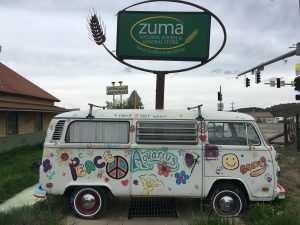 Zuma Natural Foods & General Store (and café) in tiny Mancos, CO